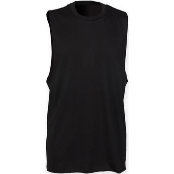 Abbigliamento Uomo Top / T-shirt senza maniche Skinni Fit SF232 Nero