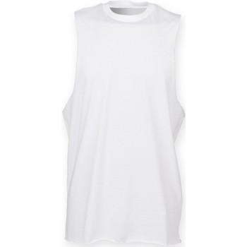 Abbigliamento Uomo Top / T-shirt senza maniche Skinni Fit SF232 Bianco