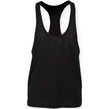 Abbigliamento Uomo Top / T-shirt senza maniche Skinni Fit SF236 Nero