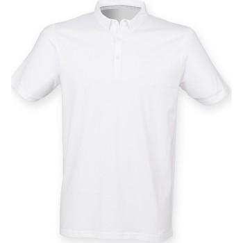 Abbigliamento Uomo Polo maniche corte Skinni Fit SF440 Bianco
