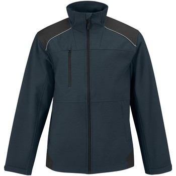 Abbigliamento Uomo giacca a vento B And C BA660 Blu navy