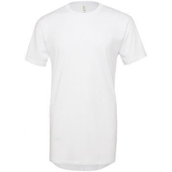 Abbigliamento Uomo T-shirt maniche corte Bella + Canvas Long Body Bianco