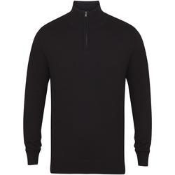 Abbigliamento Uomo Maglioni Henbury HB729 Nero