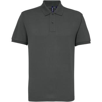 Abbigliamento Uomo Polo maniche corte Asquith & Fox AQ015 Carbone