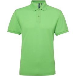 Abbigliamento Uomo Polo maniche corte Asquith & Fox AQ015 Verde lime