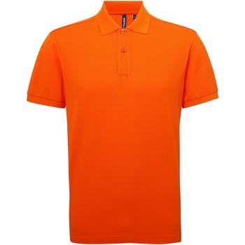 Abbigliamento Uomo Polo maniche corte Asquith & Fox AQ015 Arancio