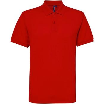 Abbigliamento Uomo Polo maniche corte Asquith & Fox AQ015 Rosso
