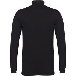 Abbigliamento Uomo T-shirts a maniche lunghe Skinni Fit SF125 Nero