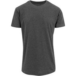 Abbigliamento Uomo T-shirt maniche corte Build Your Brand Shaped Carbone