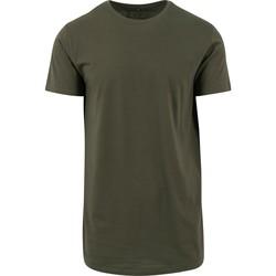 Abbigliamento Uomo T-shirt maniche corte Build Your Brand Shaped Oliva