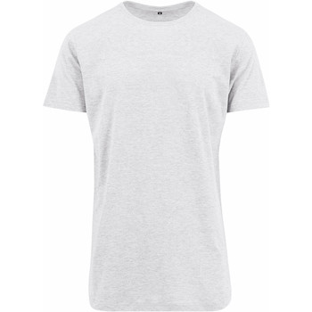 Abbigliamento Uomo T-shirt maniche corte Build Your Brand Shaped Bianco