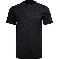 Abbigliamento Uomo T-shirt maniche corte Build Your Brand Round Neck Nero