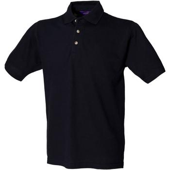 Abbigliamento Uomo Polo maniche corte Henbury HB100 Blu navy