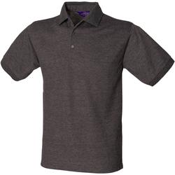 Abbigliamento Uomo Polo maniche corte Henbury HB400 Carbone