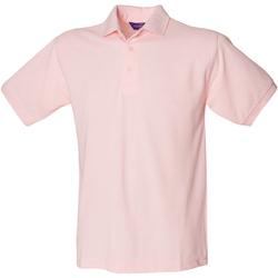 Abbigliamento Uomo Polo maniche corte Henbury HB400 Rosa