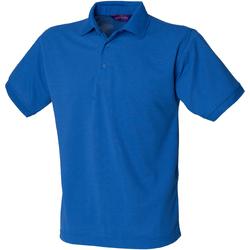 Abbigliamento Uomo Polo maniche corte Henbury HB400 Blu reale