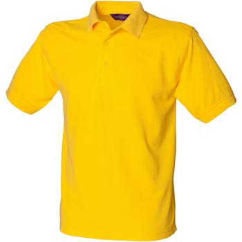 Abbigliamento Uomo Polo maniche corte Henbury HB400 Giallo