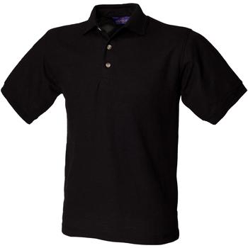Abbigliamento Uomo Polo maniche corte Henbury HB410 Nero