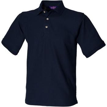 Abbigliamento Uomo Polo maniche corte Henbury HB410 Blu navy
