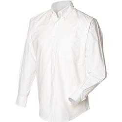 Abbigliamento Uomo Camicie maniche lunghe Henbury HB510 Bianco