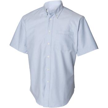 Abbigliamento Uomo Camicie maniche corte Henbury HB515 Blu