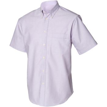 Abbigliamento Uomo Camicie maniche corte Henbury HB515 Lilla