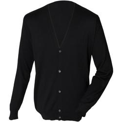 Abbigliamento Uomo Gilet / Cardigan Henbury HB722 Nero