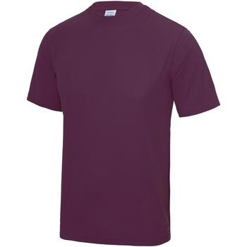 Abbigliamento Uomo T-shirt maniche corte Awdis JC001 Prugna