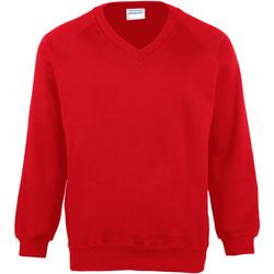 Abbigliamento Uomo Felpe Maddins MD02M Rosso