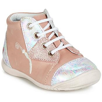 Scarpe Bambina Sneakers alte GBB VERONA Rosa
