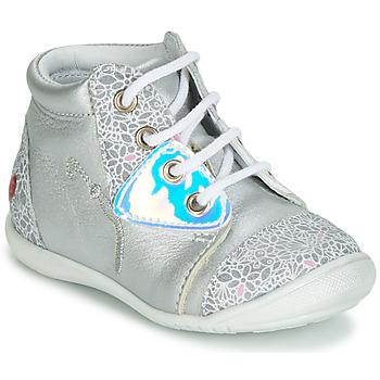Scarpe Bambina Sneakers alte GBB VERONA Argento