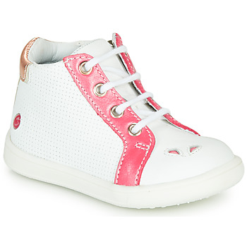 Scarpe Bambina Sneakers alte GBB FAMIA Bianco