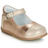 Scarpe Bambina Ballerine GBB BELISTO Rosa / Oro