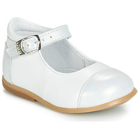 Scarpe Bambina Ballerine GBB BELISTO Bianco