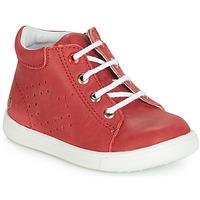 Scarpe Bambino Sneakers alte GBB FOLLIO Rosso