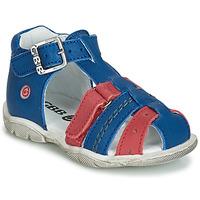 Scarpe Bambino Sneakers alte GBB ARIGO Blu-rosso
