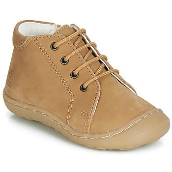 Scarpe Bambino Sneakers alte GBB FREDDO Cognac