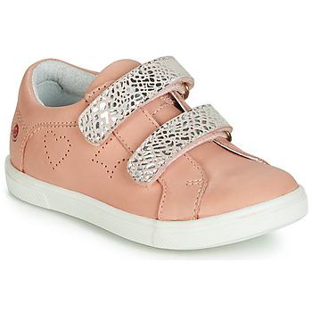 Scarpe Bambina Sneakers basse GBB BALOTA Rosa / Argento