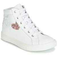 Scarpe Bambina Sneakers alte GBB MARTA Bianco / Multicolore