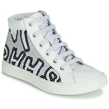 Scarpe Bambina Sneakers alte GBB MARTA Bianco