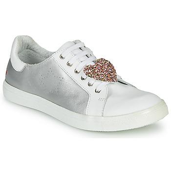 Scarpe Bambina Sneakers basse GBB MUTA Argento