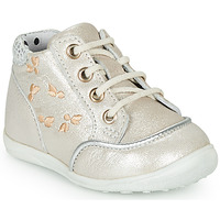 Scarpe Bambina Sneakers alte Catimini BALI Beige-  argento