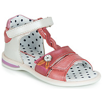 Scarpe Bambina Sandali Catimini GOROKA Bianco / Rosso