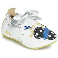 Scarpe Bambina Pantofole Catimini CATIVA Blu / Bianco