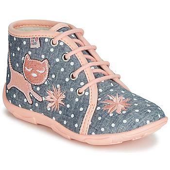 Scarpe Bambina Pantofole GBB MERMIDA Grigio / Rosa