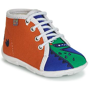 Scarpe Bambino Pantofole GBB MARCCO Arancio / Blu