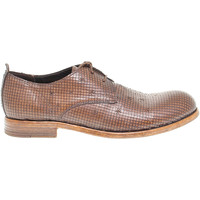 Scarpe Uomo Derby Moma Stringata  in pelle marrone