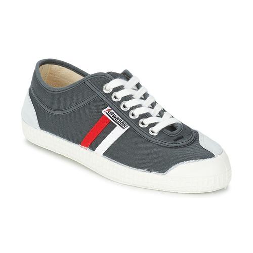 Kawasaki RETRO CORE Grigio / Rosso / Bianco / Rayé  Scarpe Sneakers basse Uomo 52
