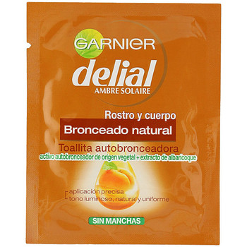 Bellezza Protezione solari Garnier Bronceado Natural Toallitas Autobronceadoras Cara+cuerpo 1 u