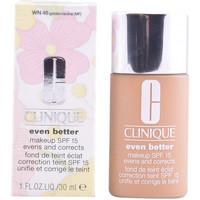 Bellezza Donna Fondotinta & primer Clinique Even Better Fluid Foundation 46-golden Neutral  30 ml